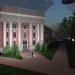 Virtual University of Alabama - Graves Hall - in collaboration with Tyler House