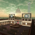 Virtual Capitol Hill - while working for Clear Ink