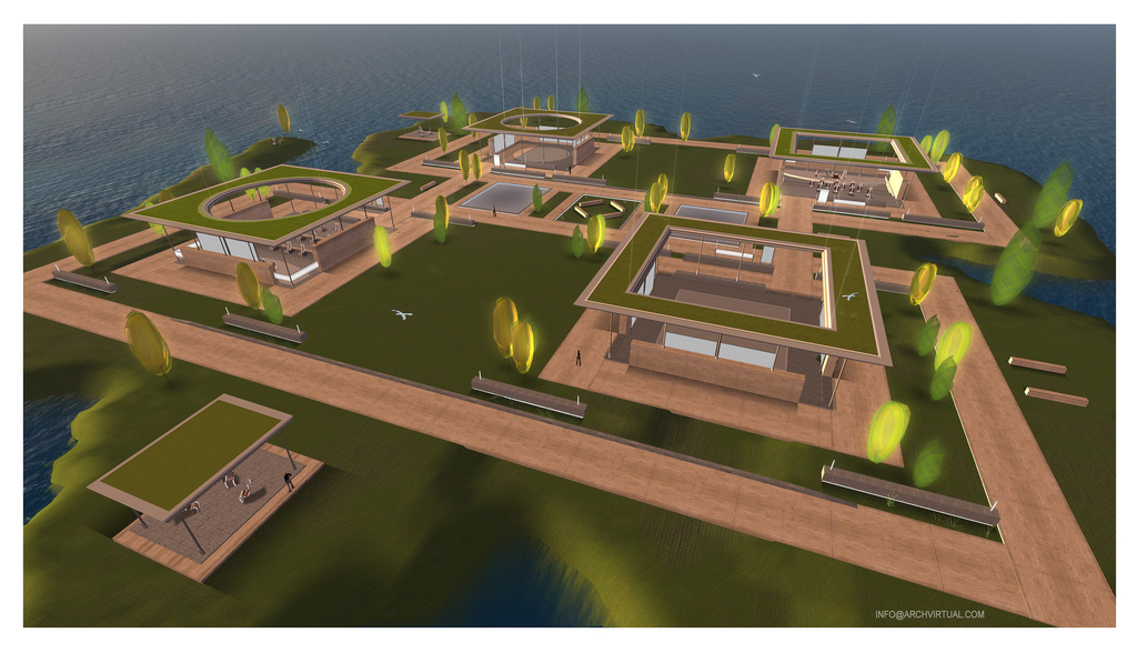 $60 OpenSim Prefab Regions: The Elements Series